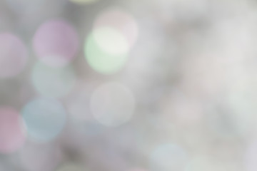 Soft blurred sweet bokeh background
