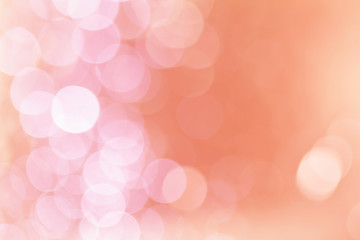 Soft blurred sweet pink bokeh background