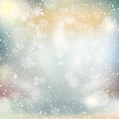Lights on Christmas background. EPS 10