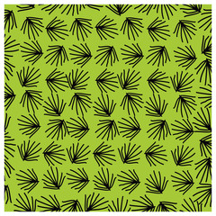 Leaves,fruits and Flowers seamless pattern
