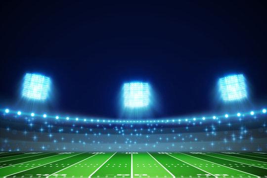 american football field eps 10