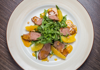 Duck Breast with Orange