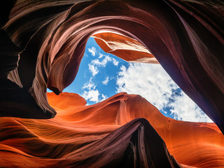 Foto op Canvas Antilope Antelope Canyon, Arizona, USA