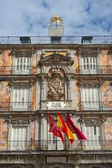 Casa de la Panaderia in Plaza Mayor, Madrid, Spain