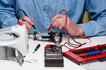 Handmixer-Reparatur