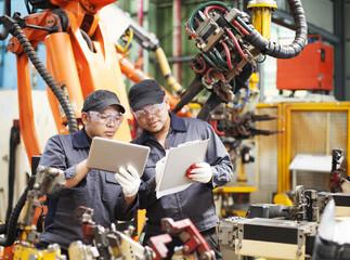 Engineering in factory
