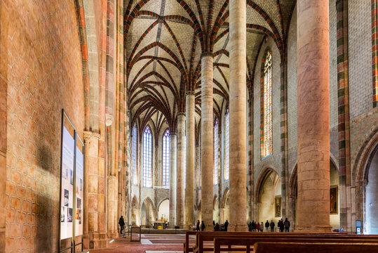 Église des Jacobins à Toulouse en Haute-Garonne, en Occitanie, France
