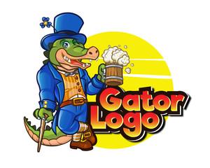 Irishman Gator Logo