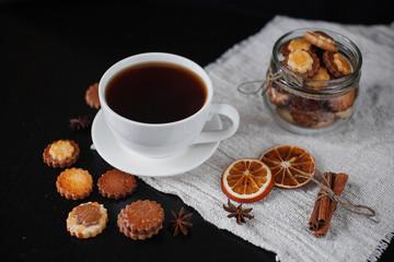 Домашнее печенье к чаю