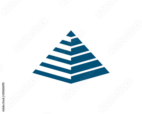 pyramid logo stock image and royalty free vector files on fotolia