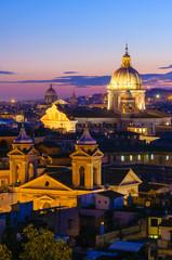 Roma panorama da Villa Borghese
