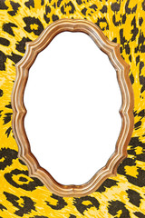 Blank vintage frame
