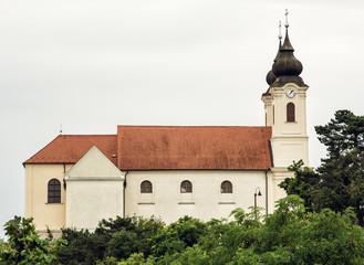 Tihany Abbey is a Benedictine monastery established at Tihany