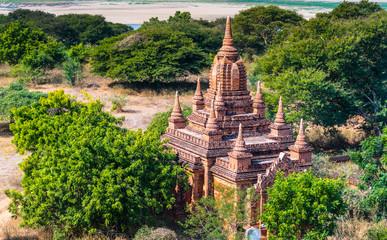 The ancient temple in Bagan, Myanmar