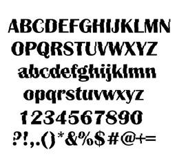 Shift alphabet vector
