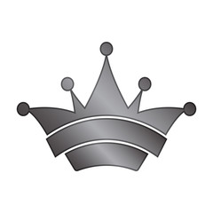 Gray Colored Clown Crown