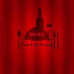 restaurant menu food and drink