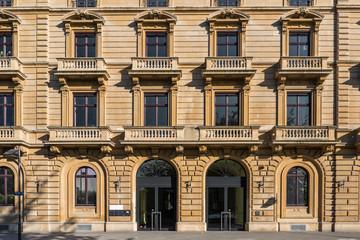 Haus Gebäude Fensterfront