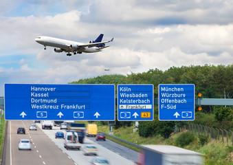 Verkehr Transport Autobahn
