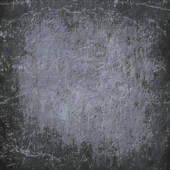 Abstract black grunge old stone wall background