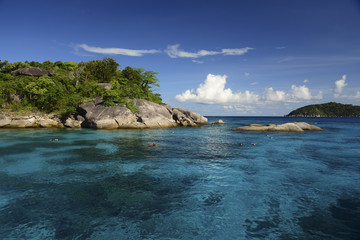 Similan islands in Andaman sea, Thailand