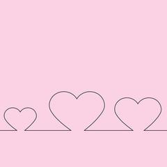 Herzchen - Vektor Grafik