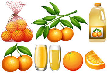 Oranges and orange products