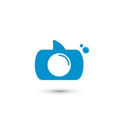 Shark Camera Logo