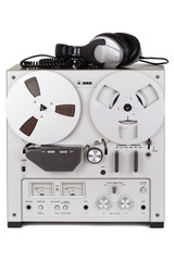 Ein analoges Stereo Reel Tape Recorder