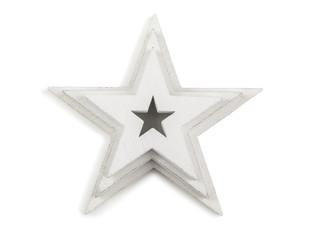 white wooden stars