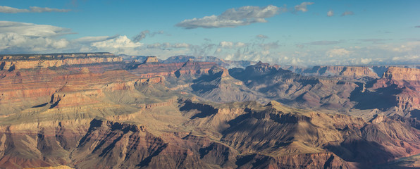 Panorama of Grand Canyon National Park