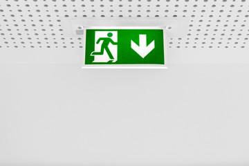 Fluchtweg Notfall Menschenleben