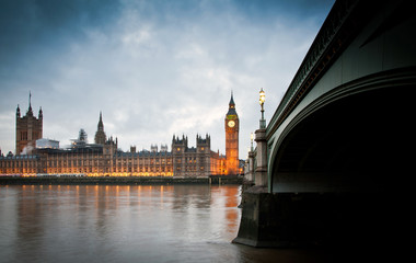 Photo sur Plexiglas Londres Big Ben Clock Tower and Parliament house at city of westminster,