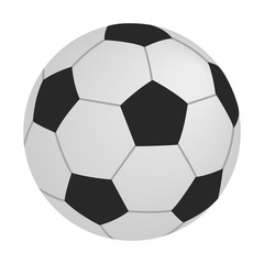 Soccer isometric 3d icon