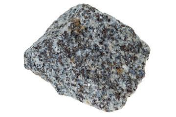 granite stone / granite stone isolated over a white background