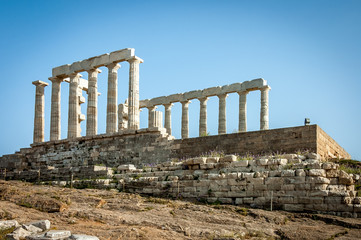 Greek temple  of Poseidon