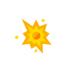 Explosion flat icon