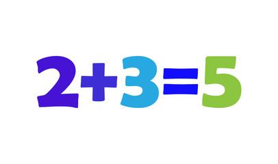Mathematics 2+3=5
