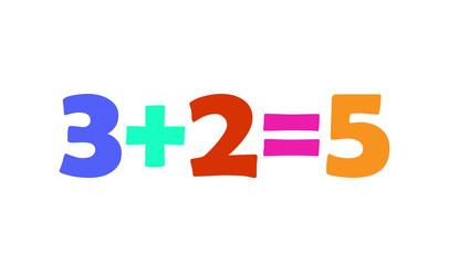 Mathematics 3+2=5