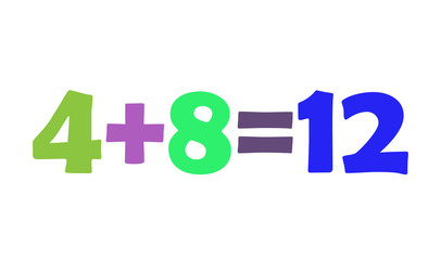 Mathematics 4+8=12