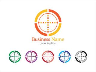 Target Logo Vector Icon Set