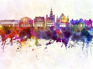 Obraz Abstrakcyjny Poznań - fototapety do salonu