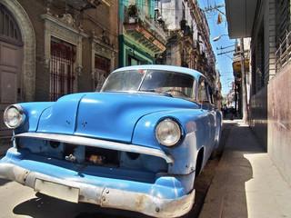 Altes Auto in Kuba