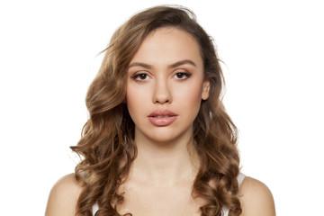 sensual portrait of a young beautiful women