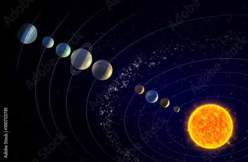 real pictures of the solar system - HD 5336×3335