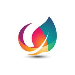 Color Leaf Logo