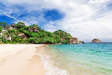 Beautiful beach on Koh Tao,