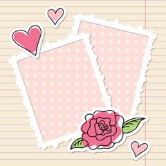frames and rose