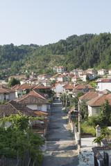 houses of Zlatograd town in Bulgaria