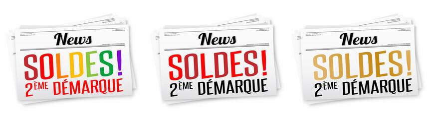 Photos illustrations et vid os de soldes d 39 t - Soldes 2eme demarque ...